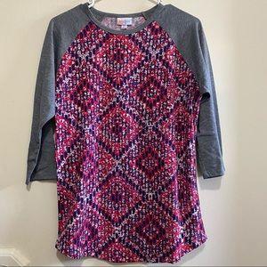 LuLaRoe Women's size Medium Long Sleeve Shirt